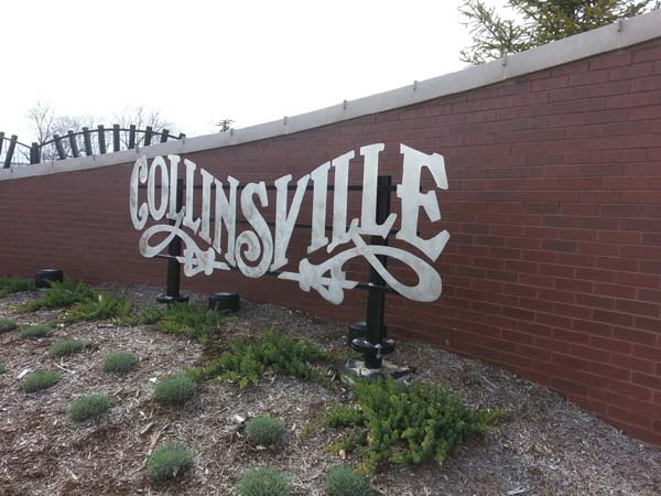 Collinsville Sign