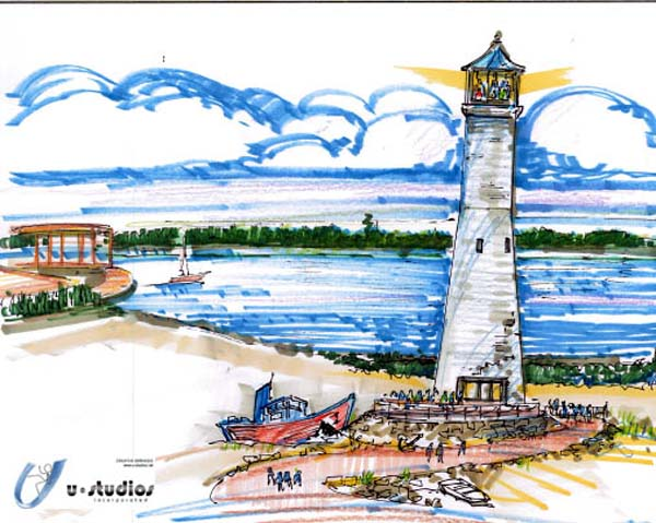 NOLA 11812 lighthouse