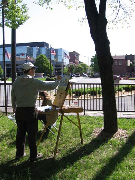 Pleinair outing