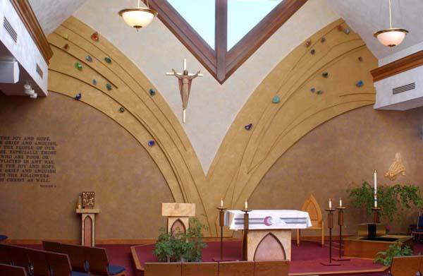 St Mary CC wall