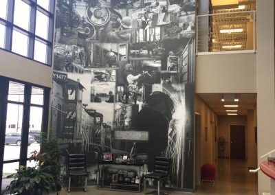 Metro East Industries Lobby Art