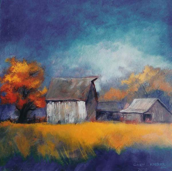 Barn squared - Autumn