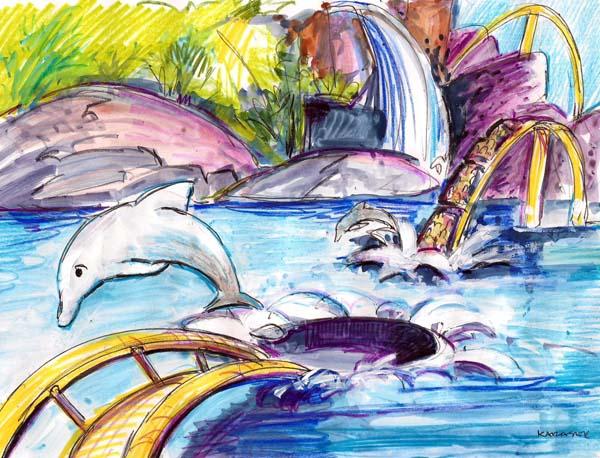 Dophin Coaster 001