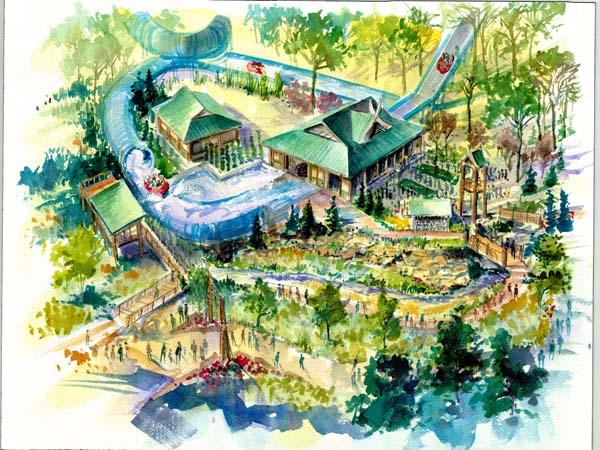 Waterslide concept
