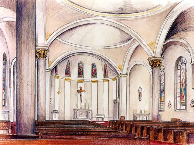 rendering - sanctuary