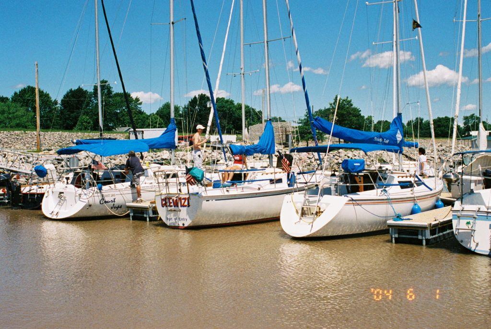sailboat docks